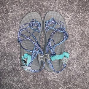 Blue & Purple Chacos